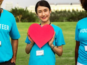 heart, volunteer, carer